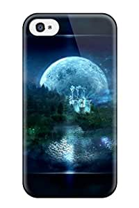 Premium Tpu Computer Cover Skin For Iphone 4/4s