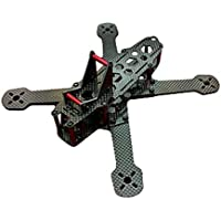 New X220 220mm Carbon Fiber Frame kit 4.0mm Arm Thickness with 30 Degree Camera Tilt Base By KTOY