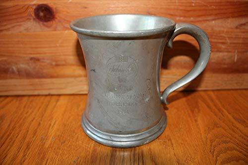 - Schaefer Steam Fitters Golf Champion pewter Beer stein mug Vintage Trophy Award