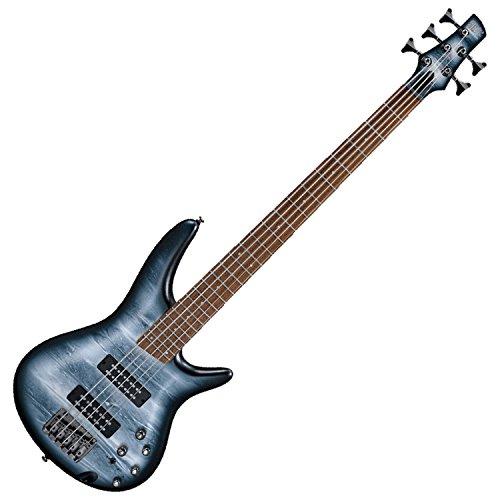 Ibanez SR305EBPM SR Standard 5-String Bass Guitar (Black Planet Matte) ()
