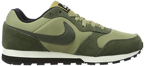 Nike 749794, Zapatillas para Hombre Varios colores (Verde / Agosto)