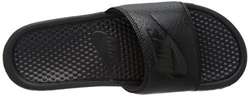 Nike Benassi Jdi, Herren Flip Flop Schwarz (Negro (Black / Black-Black))