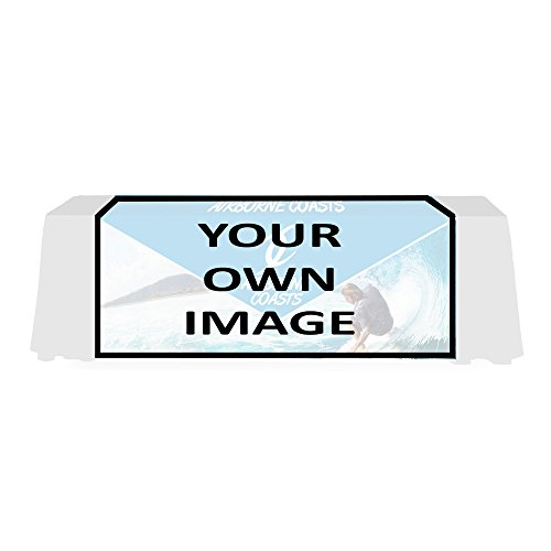 Personalized Econo Table Runner - Custom Print 5 ft. 4-Sided (Full Back)