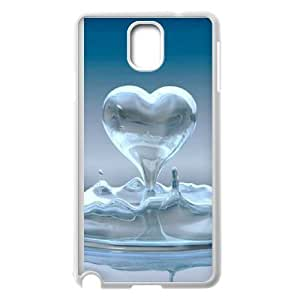Heart Pattern Image On The Samsung Galaxy Note 3 White Cell Phone Case AMW897813