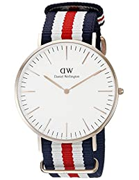 Daniel Wellington Men's 0102DW Canterbury Analog Display Quartz Multi-Color Watch