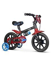Bicicleta Infantil Aro 12 Mechanic com Rodinhas, Nathor