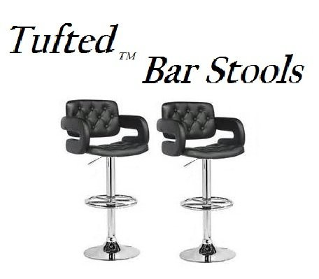 CorLiving DAB-909-B Bar Stools, Black Leatherette