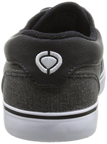 C1RCA Valeo SE Skate Shoe Black/Gum maNqBNCi