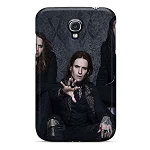 Bumper Hard Phone Cover For Samsung Galaxy S4 (pUb12549DCXj) Allow Personal Design Realistic Avenged Sevenfold Pattern
