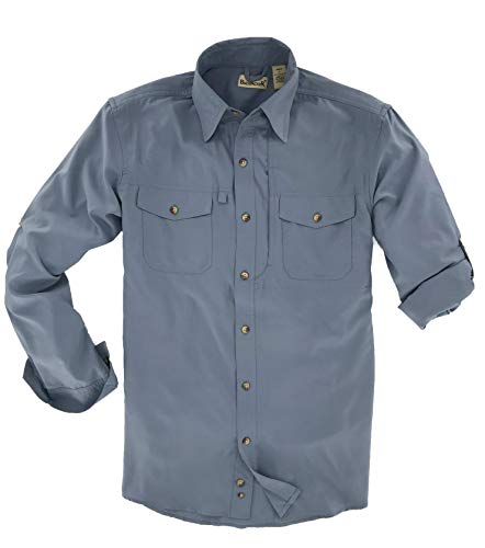 (Backpacker Expedition Travel Shirt, Twilight, X-Large)