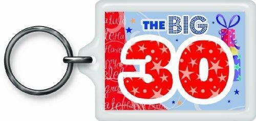 Price comparison product image The Big 30 Sentimental Keyring