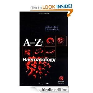 A - Z of Haematology Barbara J. Bain, Rajeev Gupta