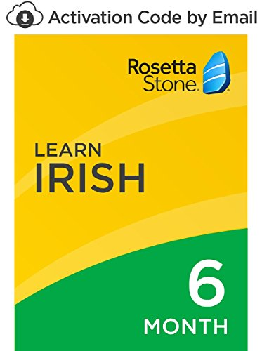 Rosetta Stone: Learn Irish for 6 months on iOS, Android, PC, and Mac [Activation Code by Email] by Rosetta Stone