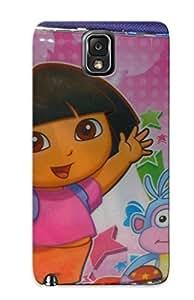 CerksA-1138-kwNiR Yellowleaf Todoparafiesta Dora La Exploradora Y Go Diego Go Lonchera Bsf 24 Durable Galaxy Note 3 Tpu Flexible Soft Case With Design