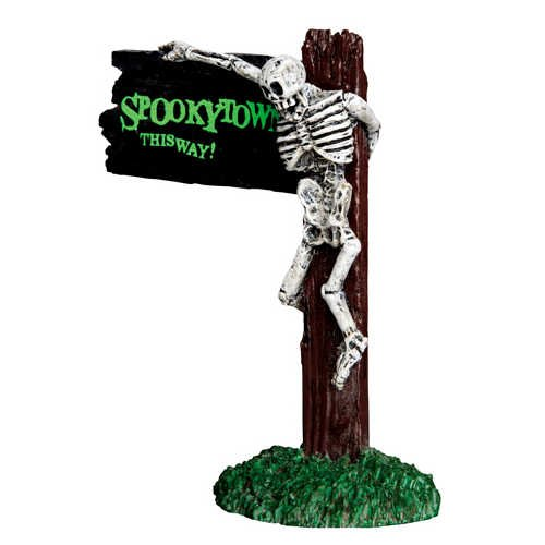 Lemax Spooky Town Spookytown This Way # 44743