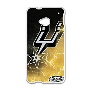 Happy san antonio spurs Phone Case for HTC One M7