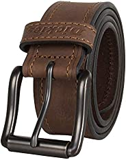 Dickies mens Leather Classic Casual Belt Belt
