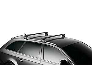 Thule AeroBlade 53-inch Roof Rack Load Bars, Black (1 PR)