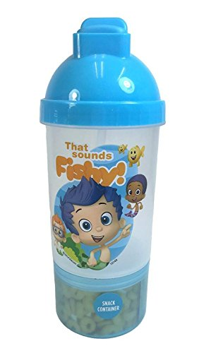 Disney Bubble Guppies Bottle Sip & Snack Canteen Bottle, used for sale  Delivered anywhere in USA