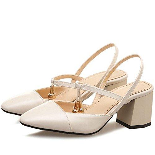 Femmes Chaussures Beige d Zanpa Sandales Ete H4f6qY