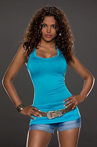 Top del la las mujeres para atractivo cord camiseta de r1wpCBrRnq