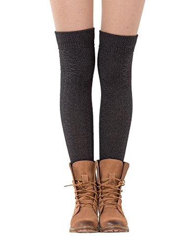 Womens Thigh Wamers Winter Crochet
