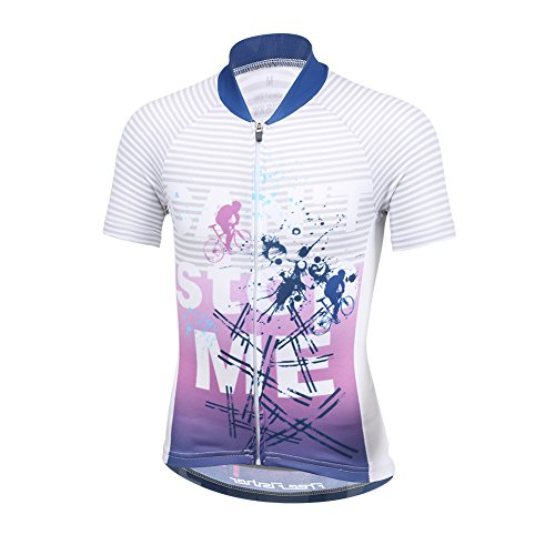 FREE FISHER Unisex Kids Cycling Jersey Breathable Cartoon Road Mountain  Bike Clothing 5e90b570b