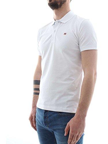 Napapijri Enifield Hombre Bianco N0yi8t Polo rrnvx