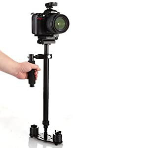 SUTEFOTO Portable S-80 Max hight 0.8M Handheld Stabilizer Pro Version for Camera Video DV DSLR Nikon Canon Sony Panasonic - Weight Bearing Capability 0.5-5 kg