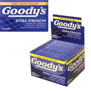Goody's Extra Strength Headache powders 36's 2 pack