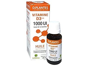 D Plantes - Vitamina D3++ 1000 UI - Aceite - 20ml: Amazon.es ...