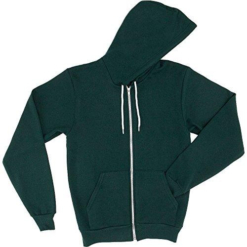 Femme Polycoton Flex Polaire Avec Apparel Sweatshirt Unisexe Forêt Man 2xl American Capuche z6n8X4p