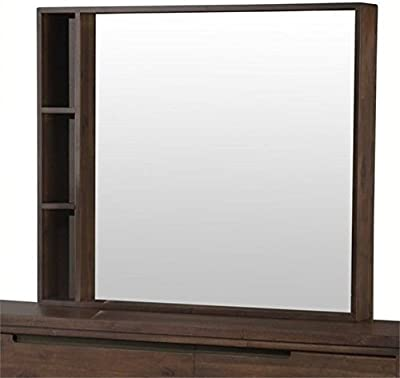 BOWERY HILL Mirror in Walnut