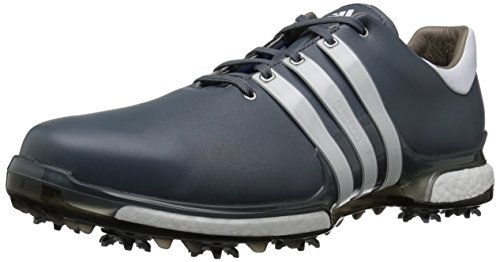 - adidas Men's TOUR 360 2.0 Golf Shoe, Onix/White/Black, 15 M US