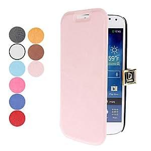 conseguir Fashion D PU de la hebilla de cuero para Samsung Galaxy S4 Mini I9190 (colores surtidos) , Negro