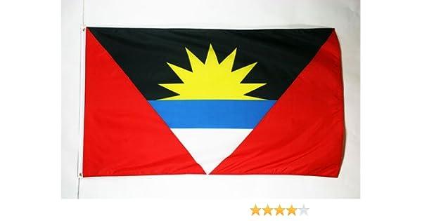 AZ FLAG Bandera de Antigua Y Barbuda 150x90cm - Bandera ANTIGUANA ...