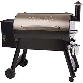 Amazon.com : Traeger TFB42LZBC Grills Lil Tex Elite 22 Wood ...