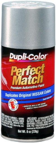 Dupli-Color BNS0598 Silver Mist Metallic Nissan Perfect Match Automotive Paint - 8 oz. Aerosol - Mist Coupe