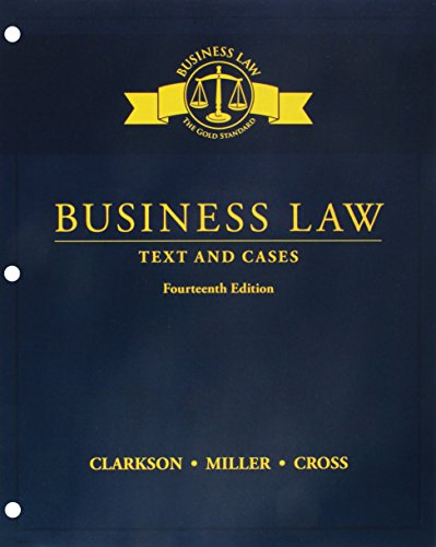 Business Law:Text+Cases (Ll) W/Mindtap