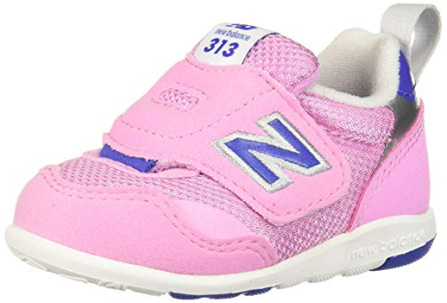 New Balance Girls' 313v1 Running Shoe, Pink/Purple, 6 W US Toddler
