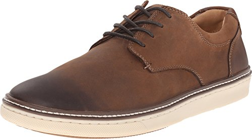 n's McGuffey Casual Plain Toe Sneaker Brown Oiled Full Grain 7 M US ()