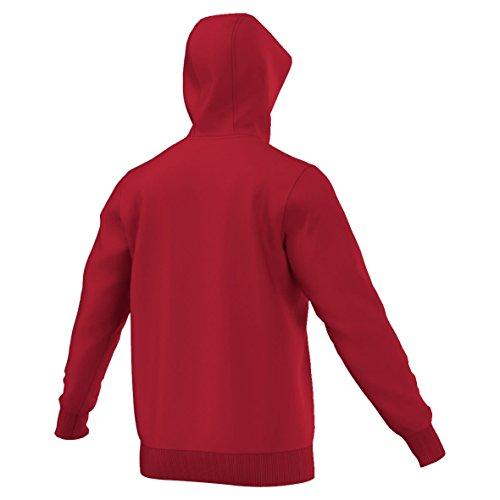 shirt 15 Adidas Sweat blanc Core Homme À Capuche Rouge 5t5w1qS