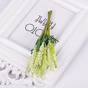 10Pcs/lot Mini PE Lavender Artificial Flowers for Wedding Home Decoration DIY Craft Gift Bride Wreath Scrapbooking,Green 53
