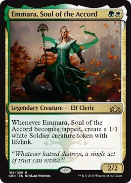 Magic: the Gathering - Emmara, Soul of The Accord (168/259) - Guilds of Ravnica