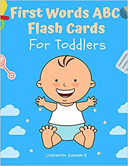 What Do We Really Know About Pre K >> First Words Abc Flash Cards For Toddlers Learn To Read All Basic