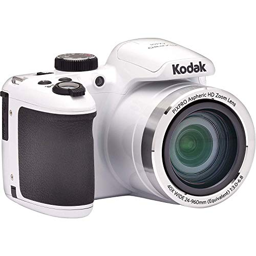 Kodak AZ401-WH PIXPRO 16MP Digital Camera, 3″, White