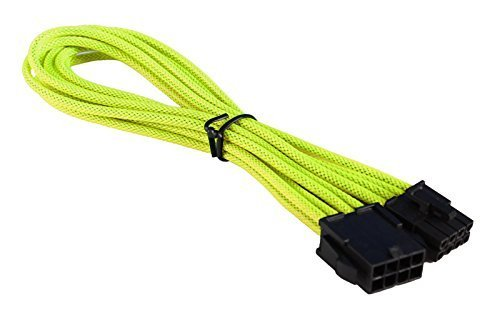 BattleBorn 8 Pin ATX EPS 12V Extension Cable Cord Premium Sleeved Braided Adapter