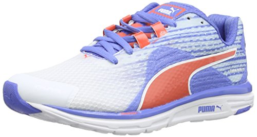 Running umrne Femme Puma Faas De Blanc wht Chaussures V4 blue 500 Wns vA0qvY