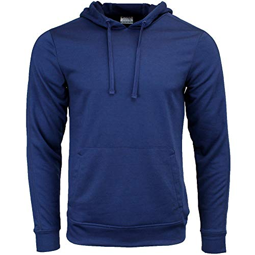 Asics Pullover - ASICS Mens Pullover Hoodie Athletic Hoodie Blue M