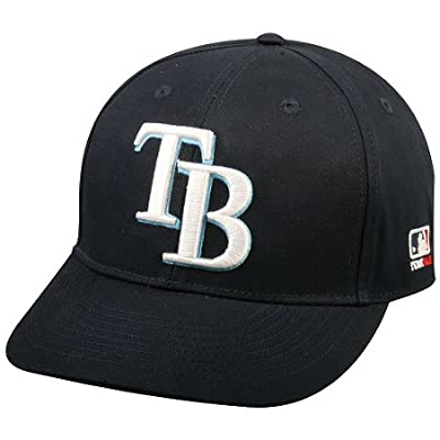 MLB Replica Adult Baseball Cap Various Team Trucker Hat Adjustable MLB Licensed , Tampa Bay Rays - Home from OC Sports
